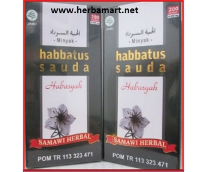 Minyak Habbattus Sauda Samawi Herbal