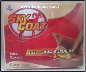 Sky Goat Susu Kambing Etawa Bubuk Propolis Coklat