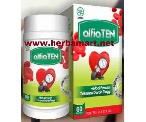 Alfia Ten Herbal Penurun Tekanan Darah Tinggi